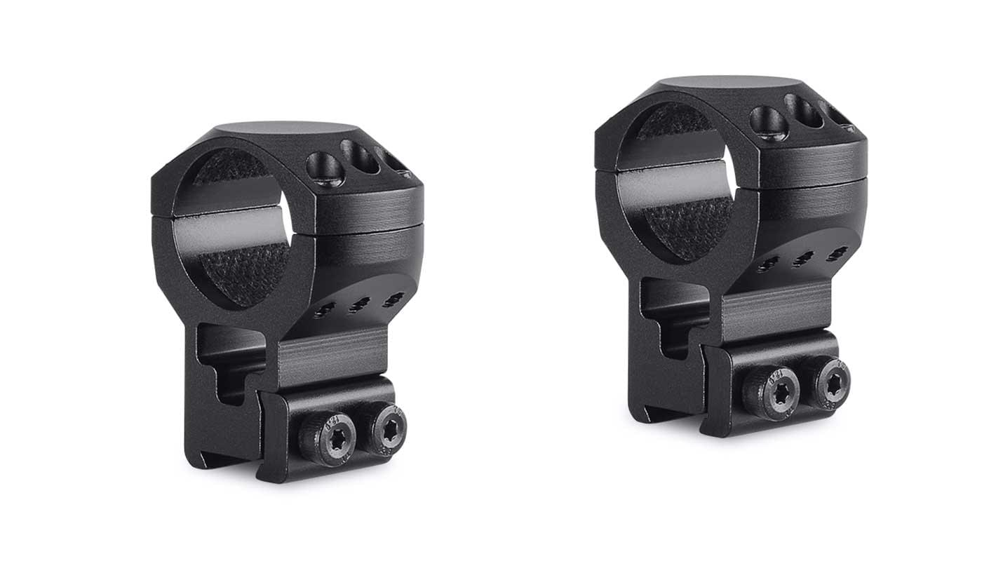 Tactical Ring Mounts 1'' 2 Piece  9-11mm Extra High