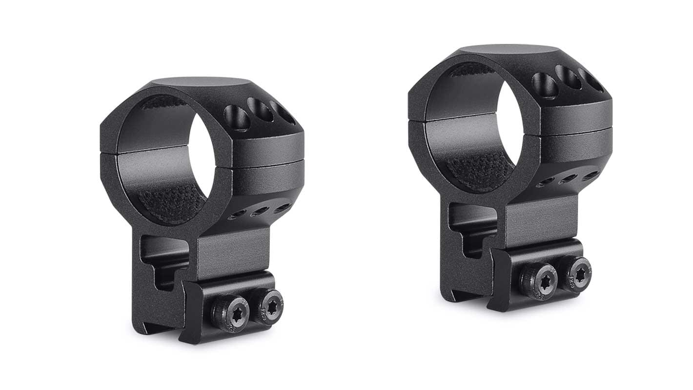 Tactical Ring Mounts 30mm 2 Piece  9-11mm Extra High