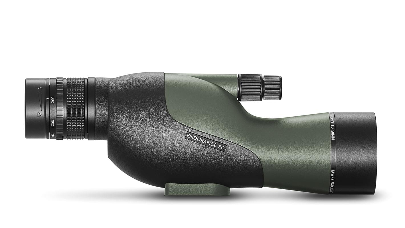 Endurance ED 12-36x50 Straight Spotting Scope