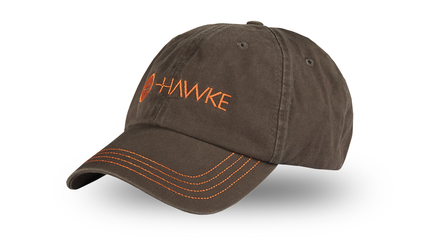 Distressed Cap Grey/Orange